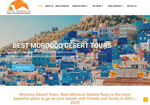 لقطة شاشة لموقع intomorocco بتاريخ 02/05/2021 بواسطة دليل مواقع الاقرب