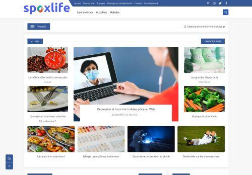 لقطة شاشة لموقع spoxlife بتاريخ 09/06/2021 بواسطة دليل مواقع الاقرب