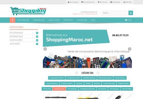 لقطة شاشة لموقع shopping maroc بتاريخ 15/06/2021 بواسطة دليل مواقع الاقرب