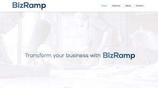 لقطة شاشة لموقع BizRamp بتاريخ 21/09/2019 بواسطة دليل مواقع الاقرب