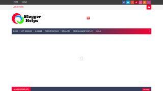 لقطة شاشة لموقع Blogger Helps بتاريخ 03/12/2019 بواسطة دليل مواقع الاقرب