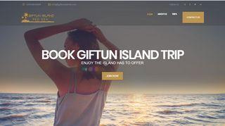 لقطة شاشة لموقع جزيرة الجفتون Giftun Island بتاريخ 31/12/2019 بواسطة دليل مواقع الاقرب