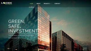 لقطة شاشة لموقع شركة لافيردي للاستثمار العقاري و التطوير العمراني بتاريخ 15/03/2020 بواسطة دليل مواقع الاقرب