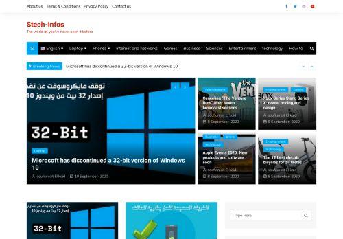 لقطة شاشة لموقع سوفتيك للتقنية بتاريخ 11/09/2020 بواسطة دليل مواقع الاقرب
