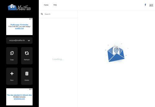 لقطة شاشة لموقع بريد مؤقت بتاريخ 13/09/2020 بواسطة دليل مواقع الاقرب